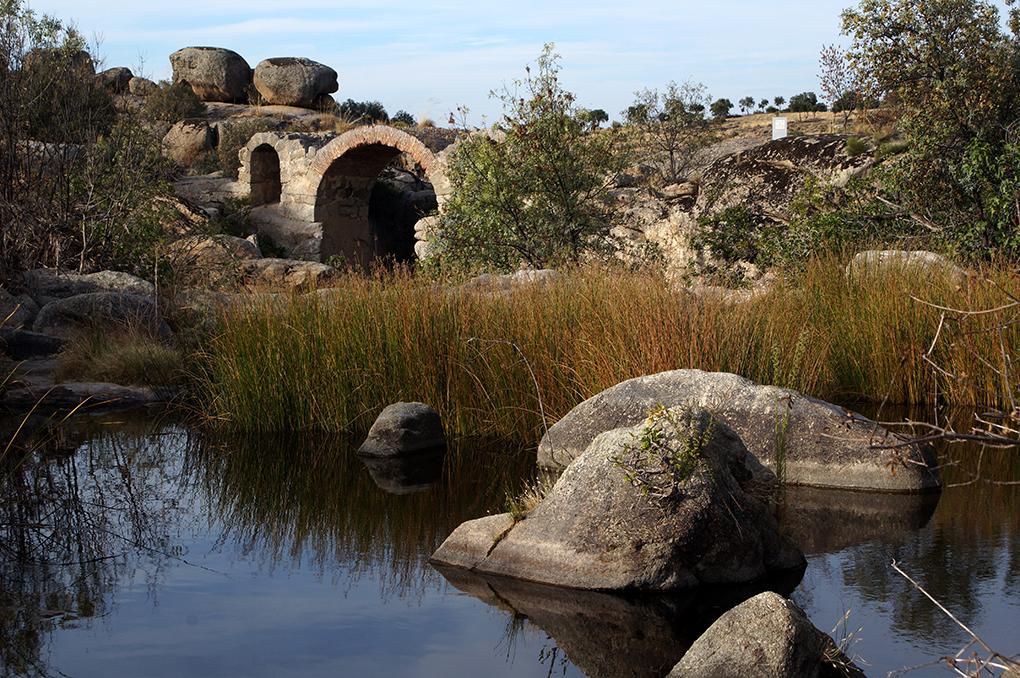 Puente Canasta San Martin Montalban en San Martín de Montalbán